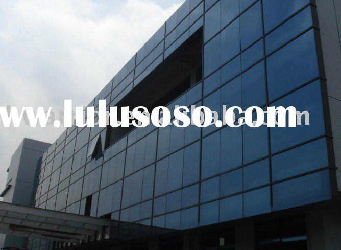 Polyurethane Curtain Wall : Mirror finish aluminum plastic board sheet for sale