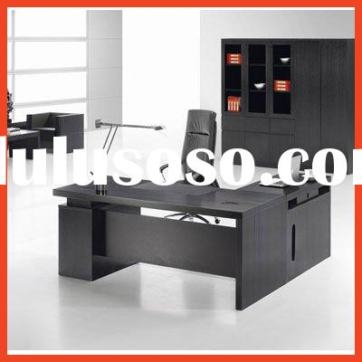 Knock down modular modern design solid wood executive desk for sale