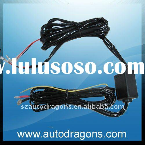 LED Daytime Running Light Relay Harness Auto Control On/Off Switch