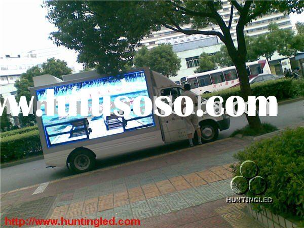 LED display car advertising LED advertising billboard