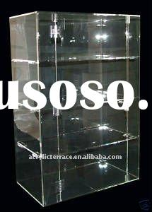 Large Acrylic Lockable Display Cabinet