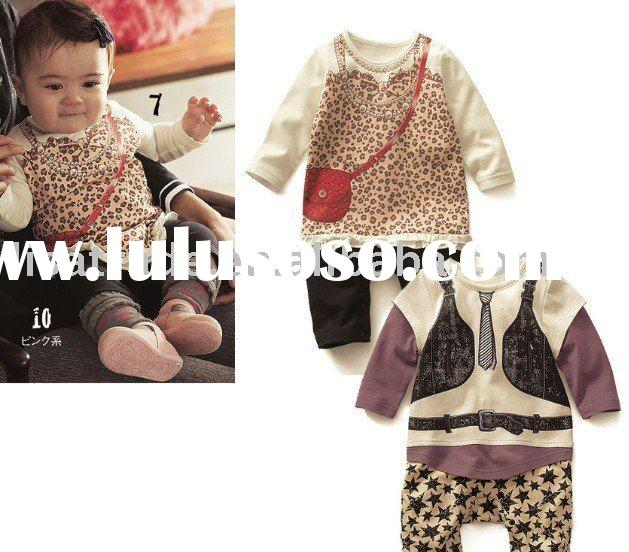 Lastest baby romper /infant's garment /infant wear /kids wear