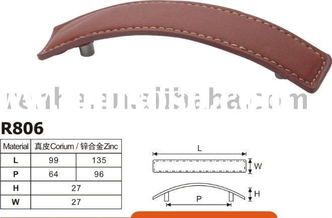 Leather furniture pull handle(R819)