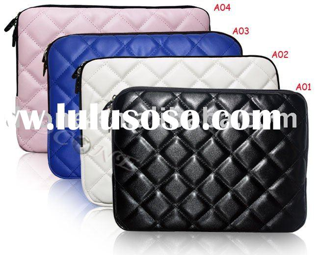 Leather notebook PC portable computer laptop sleeve case pouch bag cute laptop bags