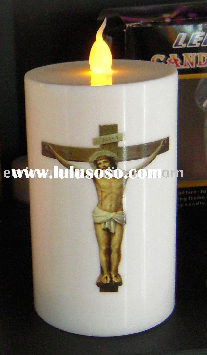 Led religious candle