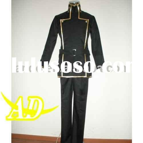 Lelouch Lamperouge uniform cosplay costume