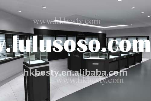 Lighted high end jewellery store furniture manufacture company