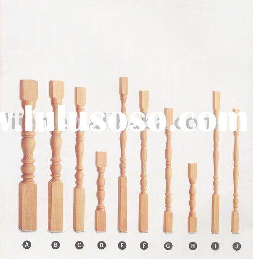 Liien Staircases Solid Wooden Stairs balustrade,Wood Stair Parts