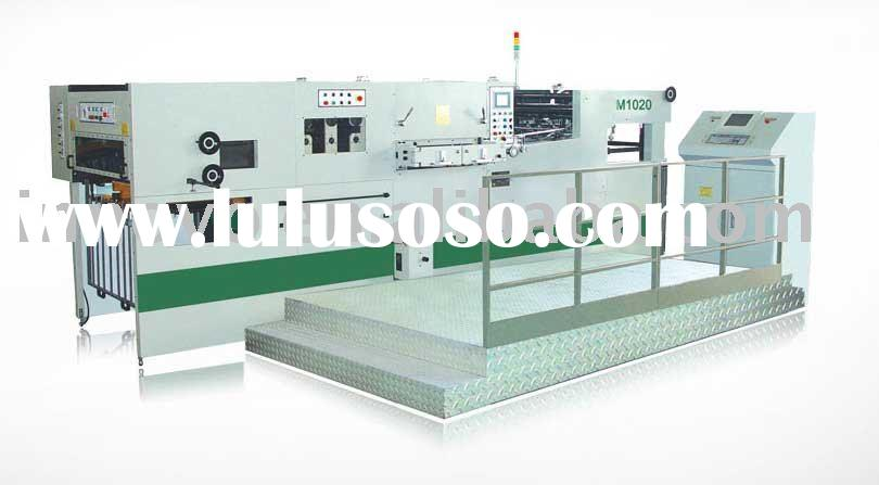 M1020 automatic foil stamping and die cutting machine