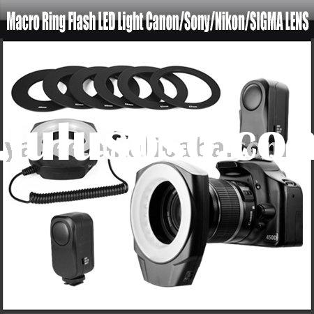 Macro Ring Flash LED Light for Canon/Sony/Nikon/SIGMA Lens,YHA-HG022