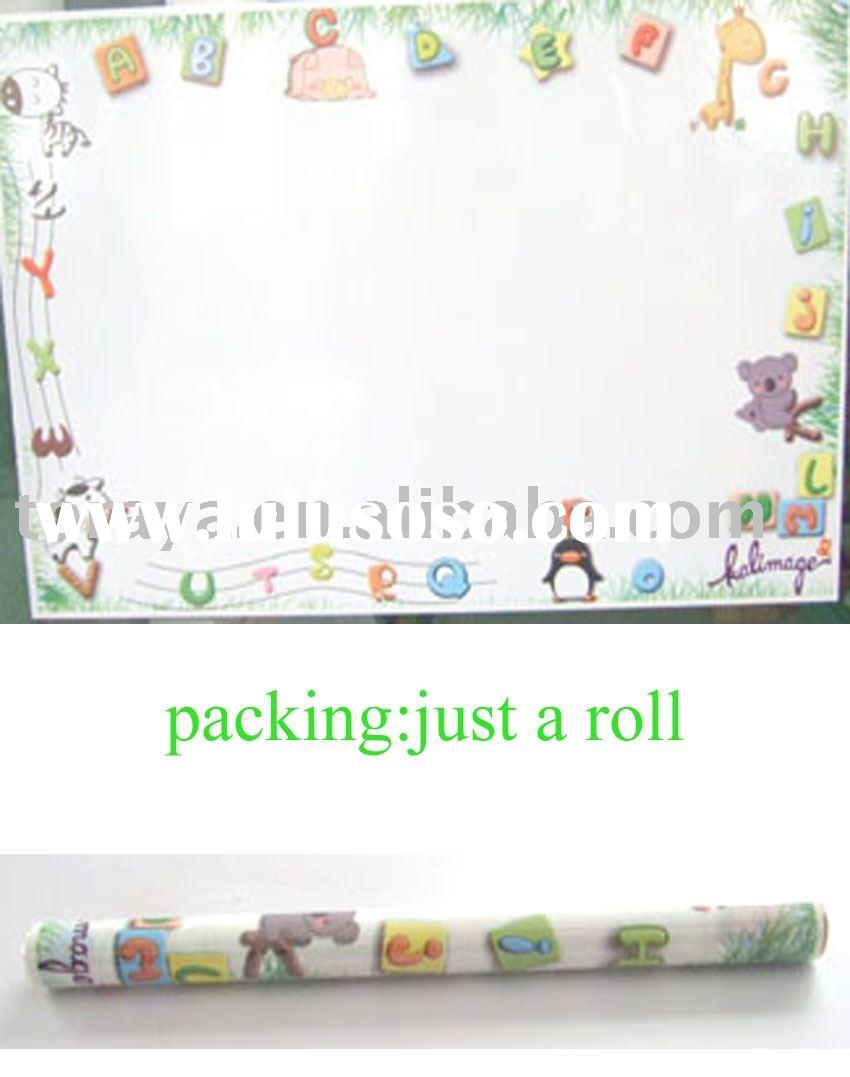 Magnetic drawing board (pp painting sheet,kids painting board)