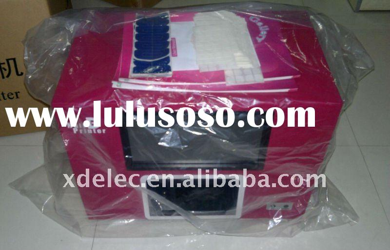 Manicure Printer machine,5 finger-nails one time nail printer,New Software In 2011,Free Shipping by