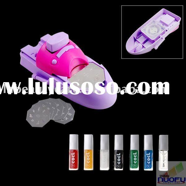 Manual portable nail art printing machine & nail art printer