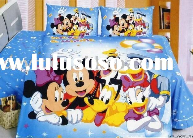 Mickey Mouse Bedding Set for children D008 wholesale & OEM