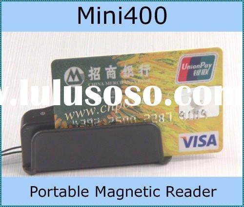 Minid400 magnetic card reader decoder mini123ex