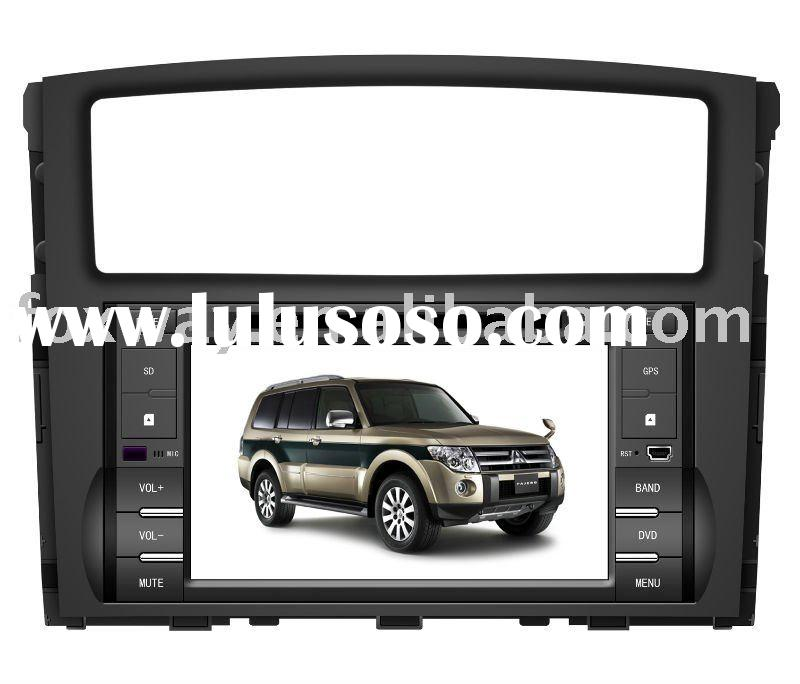Mitsubishi Pajero car-in DVD GPS with HD Screen
