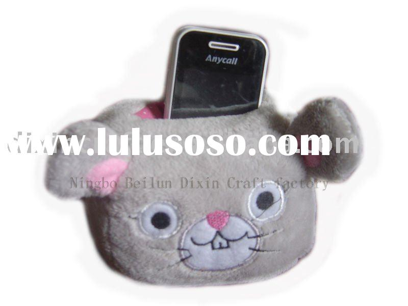 Mouse mobile phone holder