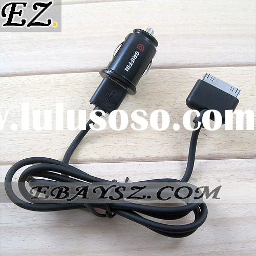 NEW 2 USB in 1 Power jolt Dual USB Car Charger for iPhone for iPod for iPad IP-730 Wholesale/Retail