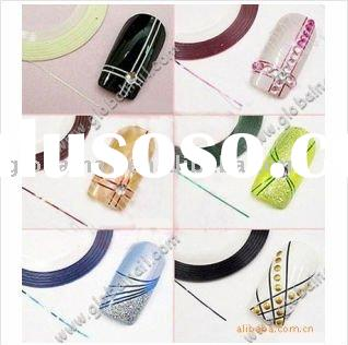 Nail Art Acrylic Gel Tips Striping Tape Decoration