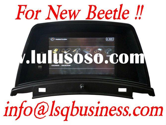 New!! 2 Din 7 Inch GPS Car DVD for VW New Beetle with amplifier 4*50W GPS Radio ST-7027