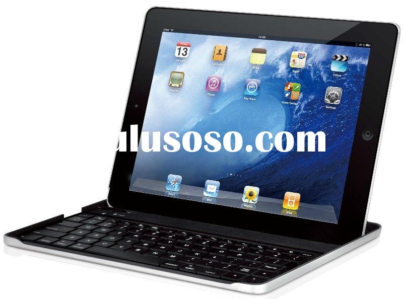 New Aluminum Case with Bluetooth Keyboard For Apple i-Pad 2