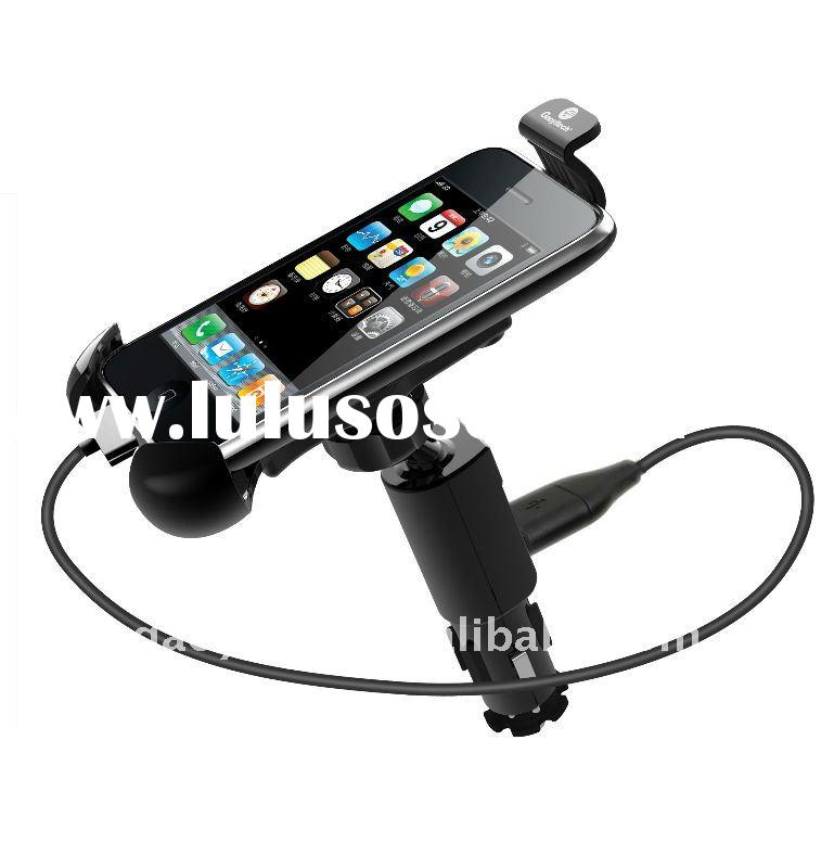 New design mobile phone holder car mount charger for smartphone 5V,1.5A,HC-04