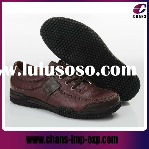 New fashion men leather casual shoes
