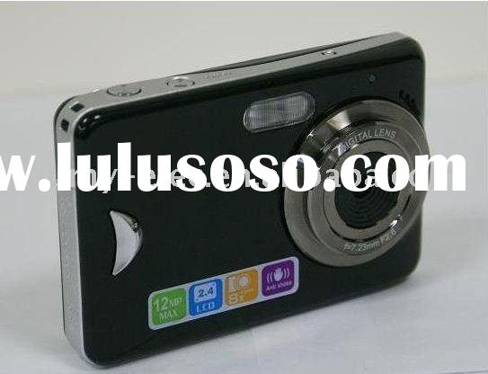 Newest wholesales, retail,Touch Screen Digital Camera 12MP