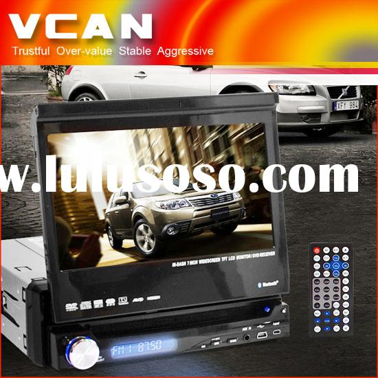 One DIN 7 inch touchscreen car DVD receiver