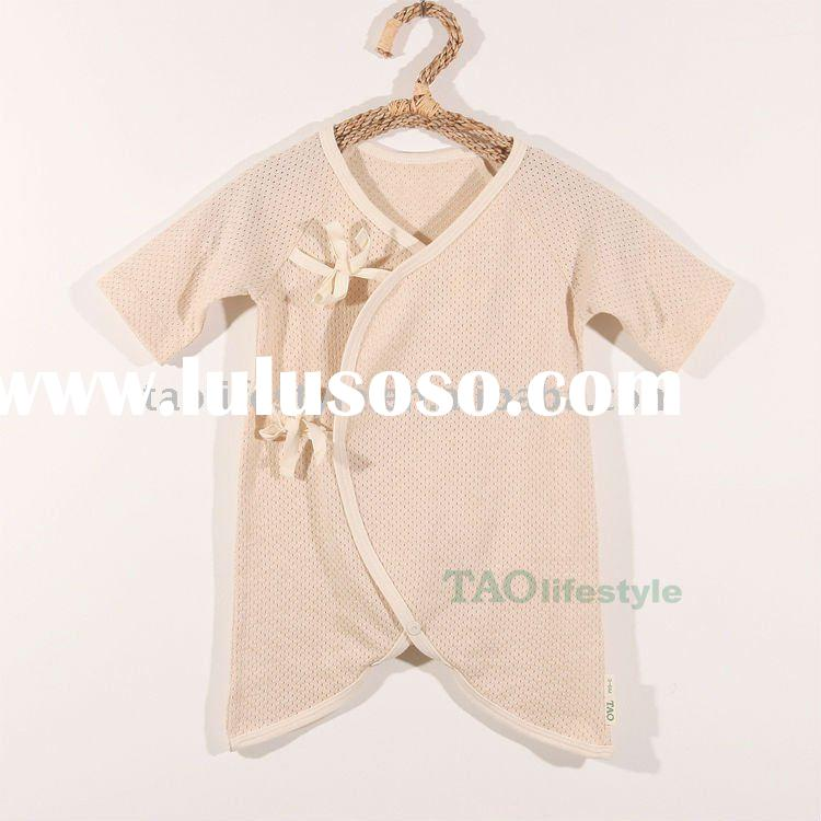 Organic cotton baby clothes;baby romper ;baby wear