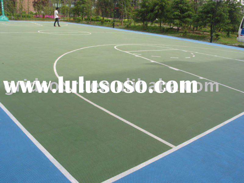 Outdoor Basketball Court Suspended Interlocking Sports Flooring,Basketball Court Sports Flooring Sys