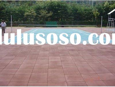Outdoor Use Rubber Flooring Tile