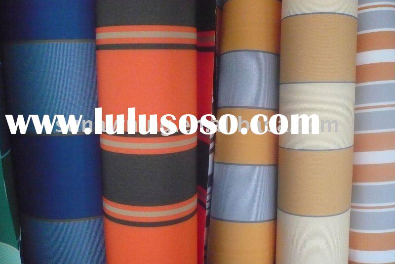 Outdoor polyester fabric