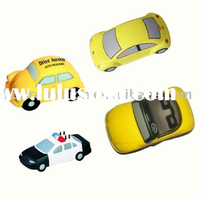 PU stress car toy