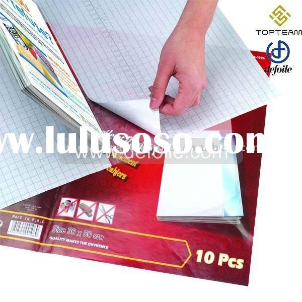PVC Adhesive Book Cover In Sheet