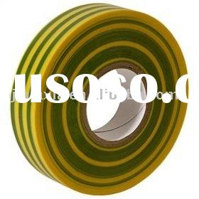 PVC Electrical Insulation Tape(yellow/green)
