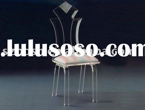 Plastic Chair,Acrylic Ghost Chair,Lucite Furniture,Perspex Chair,Plexiglass Dining Chair