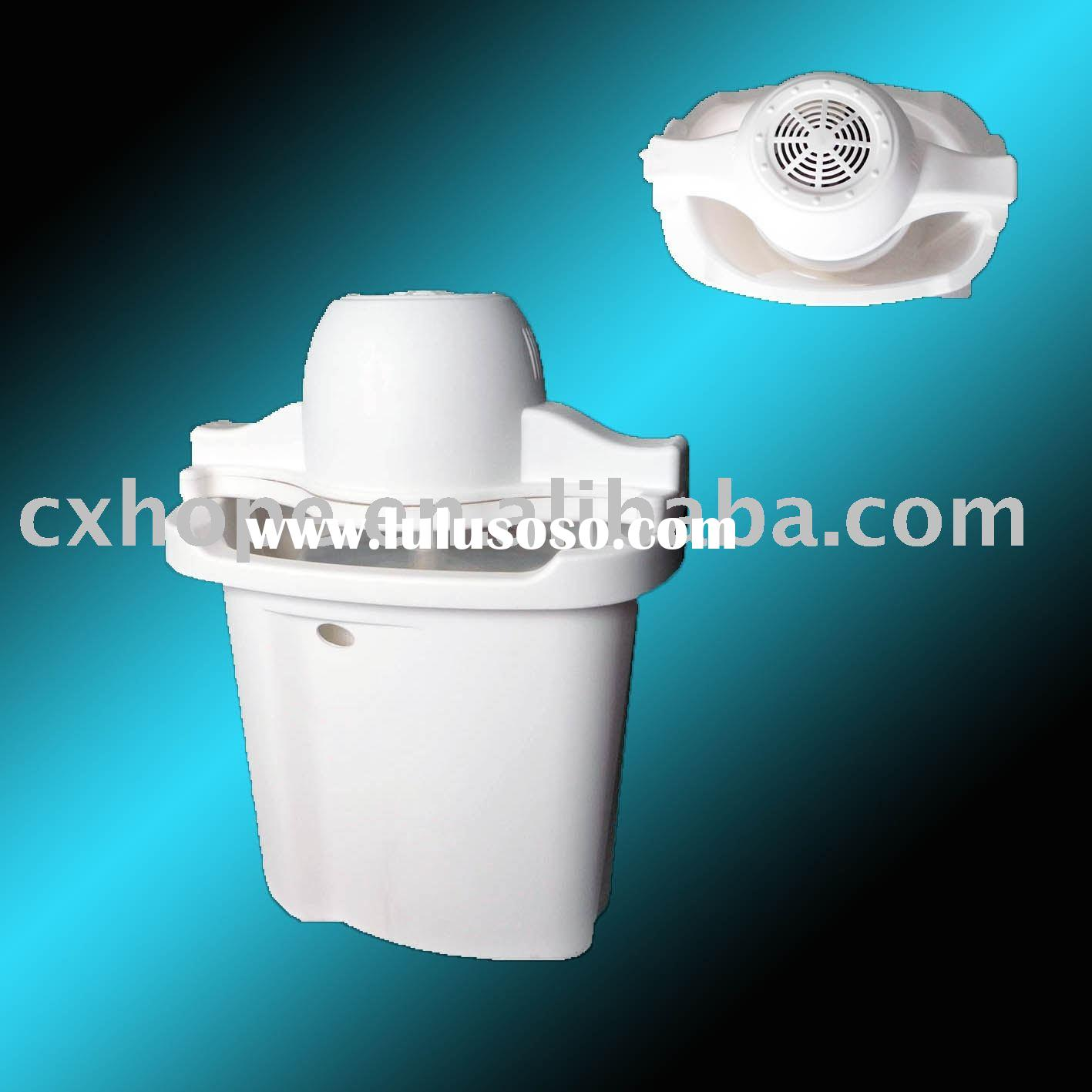 Plastic Ice Cream Maker(Plastic bucket ice cream machine, 4qt ice cream maker)