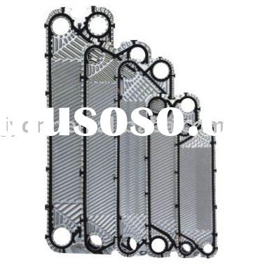 Plate heat exchanger plate and gasket