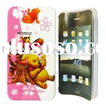 Playful Tigger and Winnie the Pooh For iPhone 4 Hard Cover
