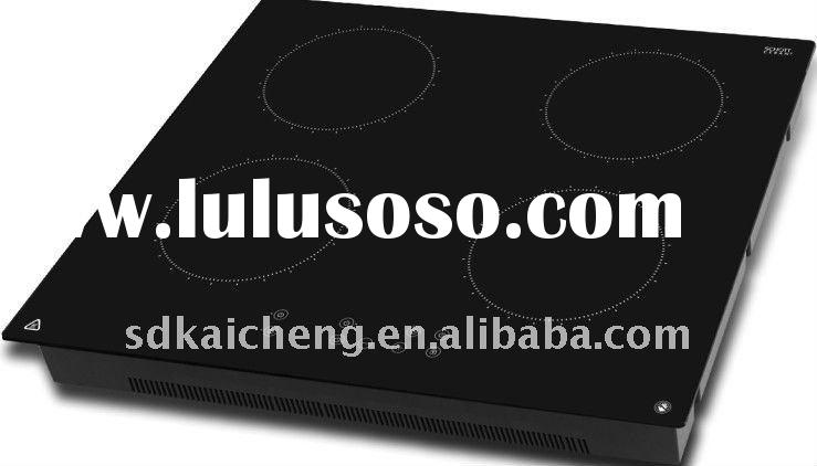 Portable Induction Cooktop Cooker S4-A Black Crystal Touch Panel