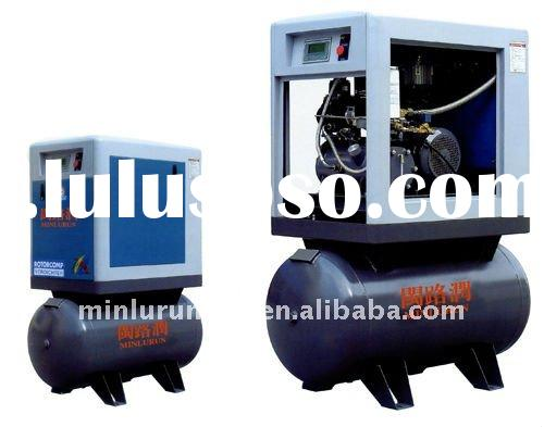 Portable Integrated screw air compressors