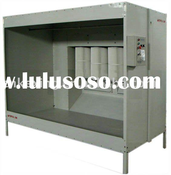Powder coating oven for sale price china manufacturer for Powder coating paint booth