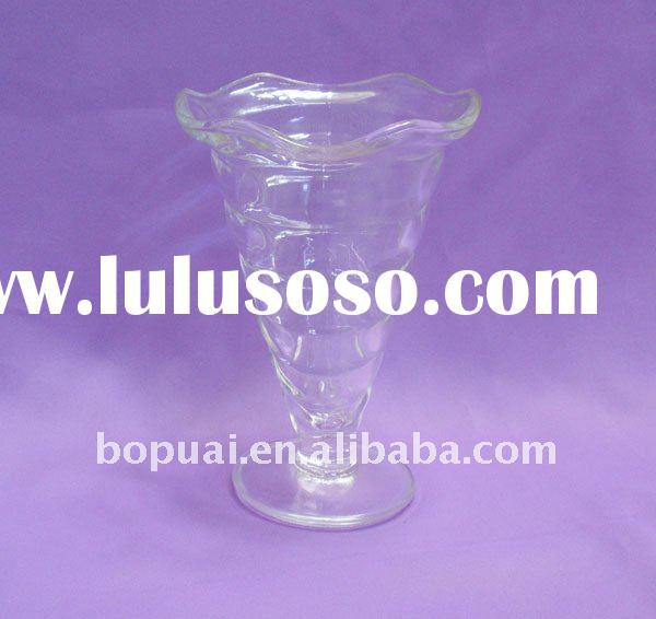 Pressed shell Glass/ice cream cup