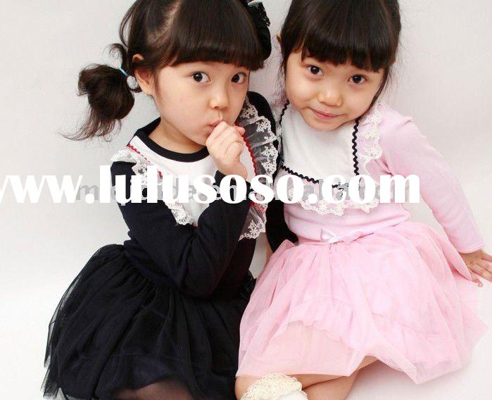 Pretty kids wholesale clothing/2-12years old