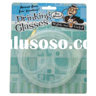 Quality Drinking Straw Glasses Beer Goggles Funny Specs Gifts