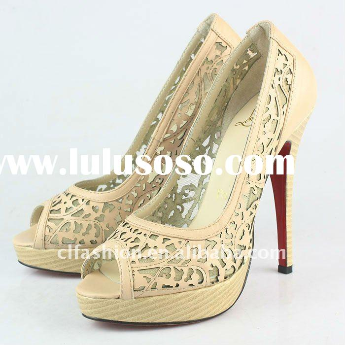 RED sole women dress shoes