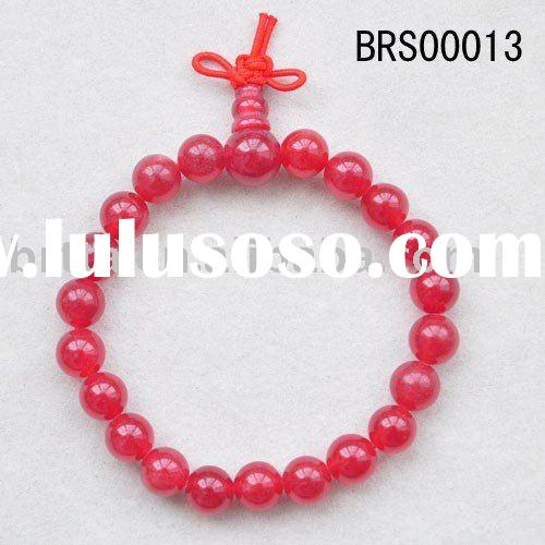 "Red Jasper,Round,8mm,7.5"",Fashion Bangle Jewelry,Power Jade beads Bracelet"