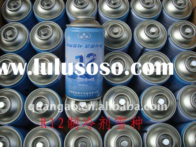 Refrigerant gas R12/small can