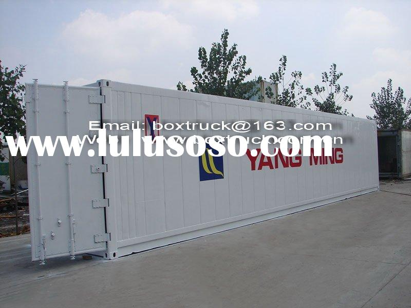 Refrigerated container, 40'HR container, Reefer container, Refrigerated truck body